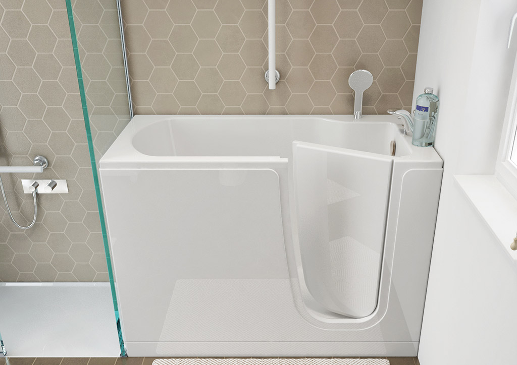 baignoires porte pour pmr. Black Bedroom Furniture Sets. Home Design Ideas
