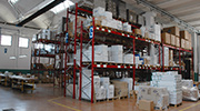 l'entrepôt de Goman