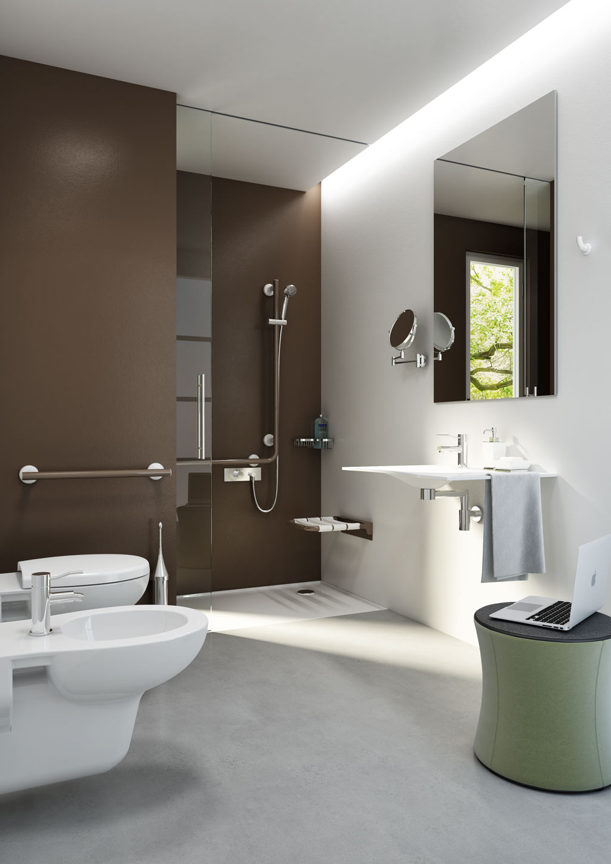 Accessori Bagno Design Minimale : Bagno doccia disegno