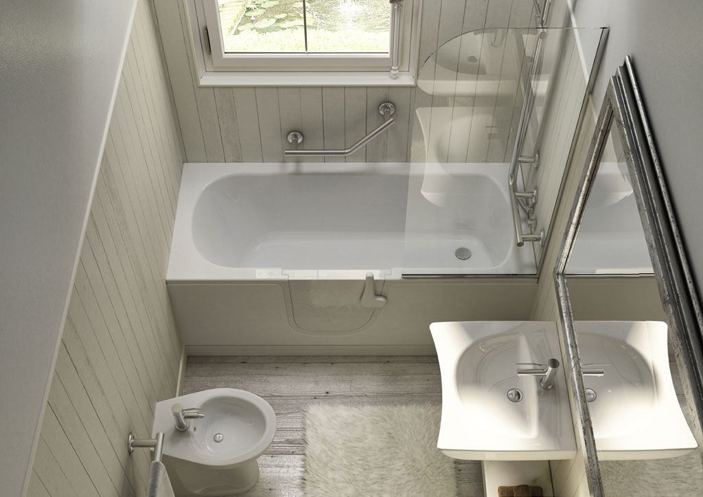 salle de bains shabby chic