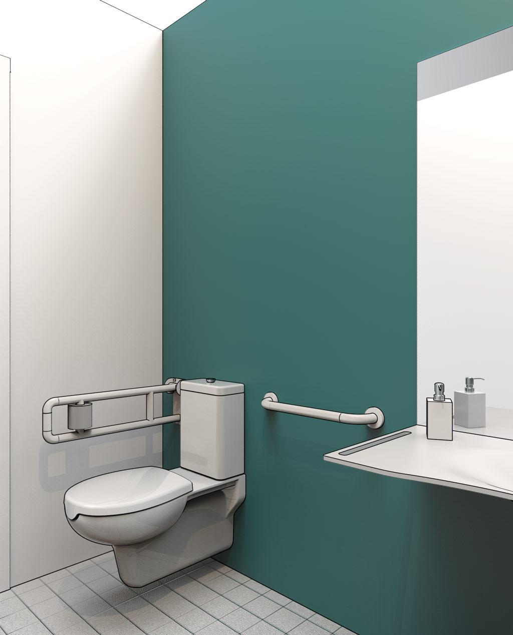 Meuble Salle De Bain Dwg ~ lavabo pmr dwg great salle de bain pmr dwg con dwg lavabo dwg
