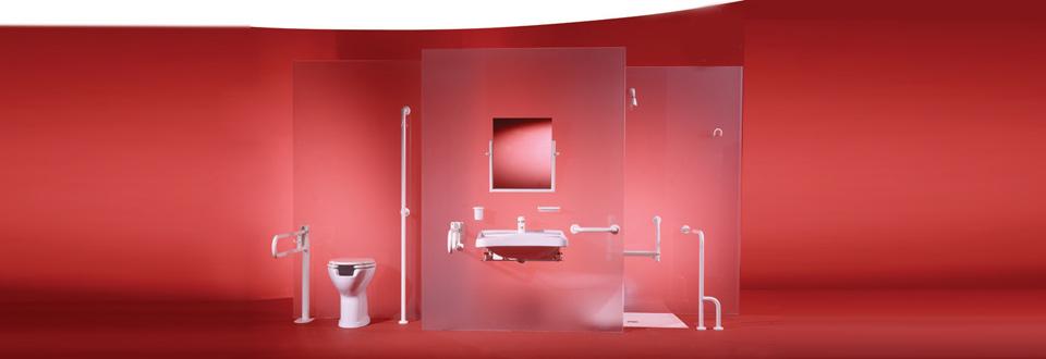 Salles de bain pour handicapees.